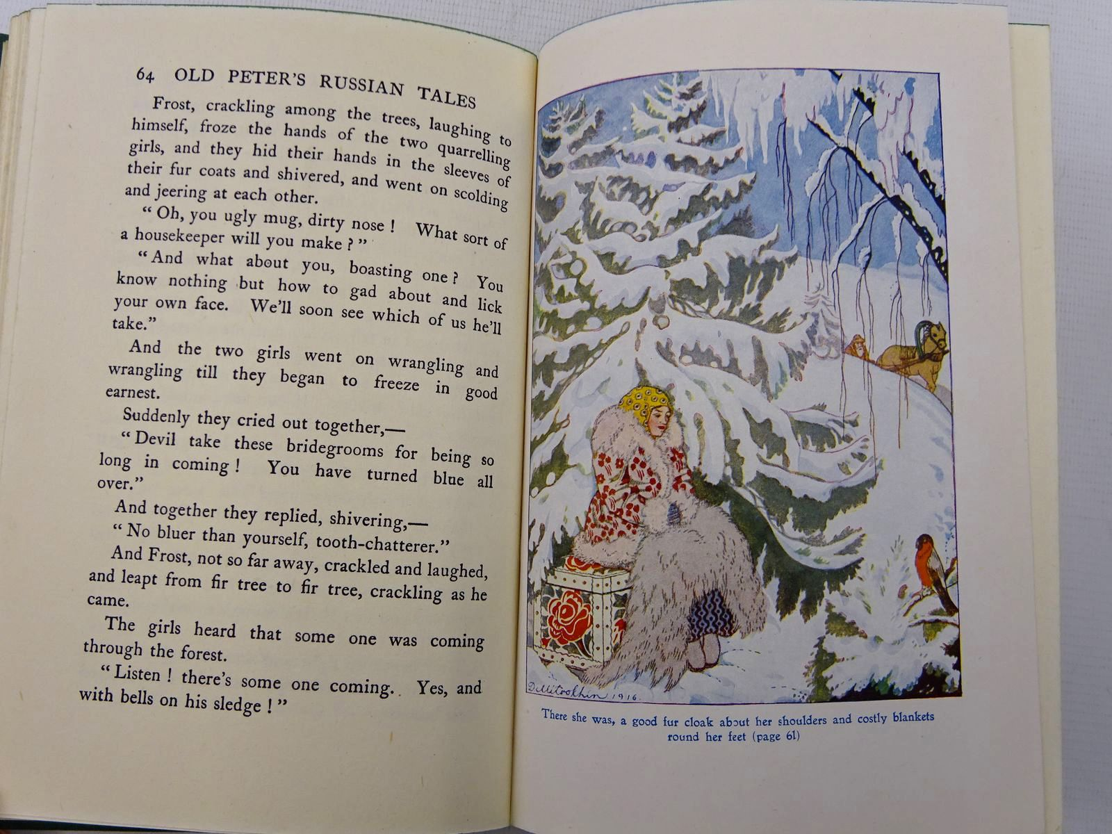 Photo of OLD PETER'S RUSSIAN TALES written by Ransome, Arthur illustrated by Mitrokhin, Dmitri published by Thomas Nelson and Sons Ltd. (STOCK CODE: 2128937)  for sale by Stella & Rose's Books
