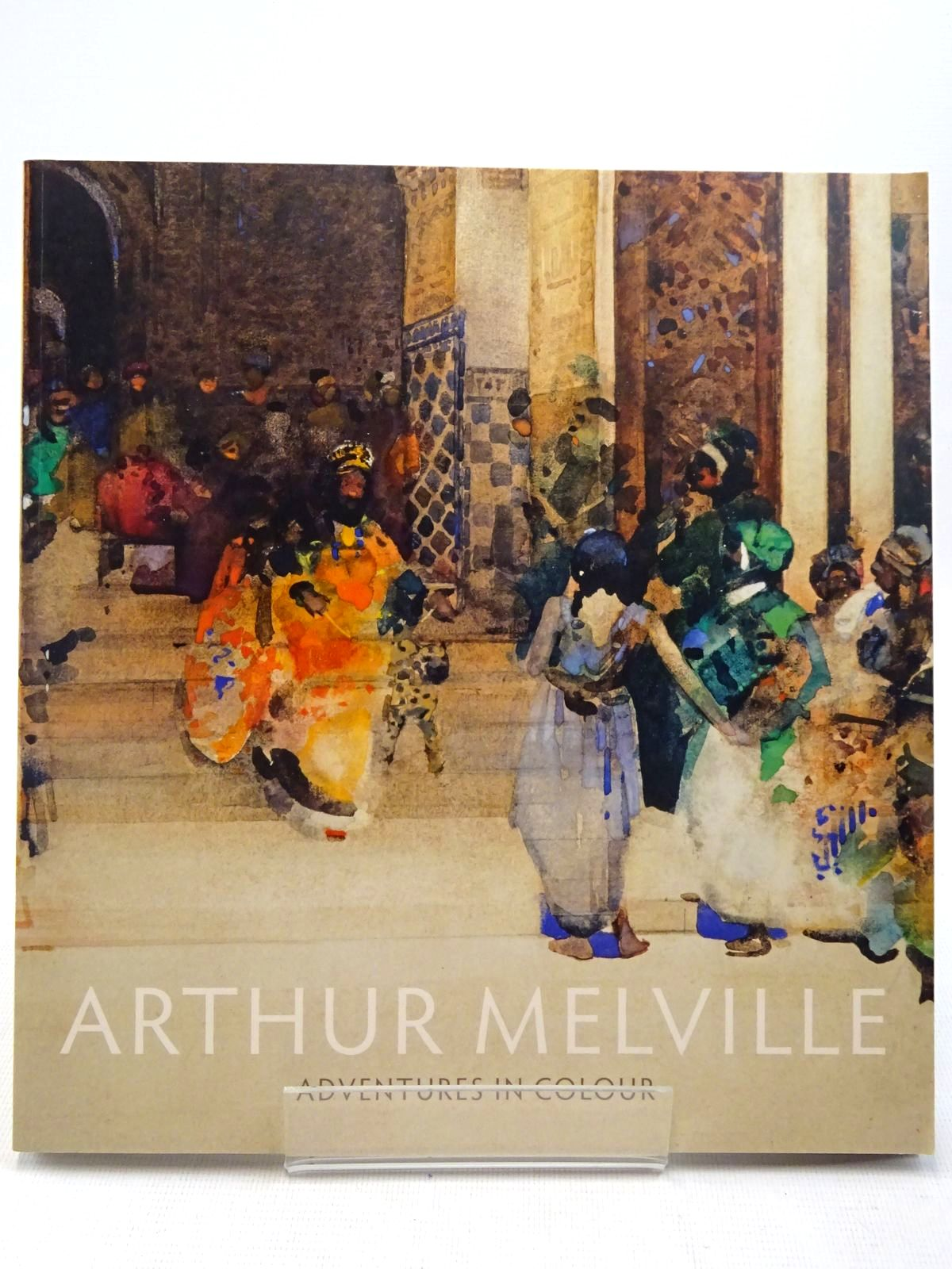 Photo of ARTHUR MELVILLE ADVENTURES IN COLOUR written by McConkey, Kenneth<br />Topsfield, Charlotte published by National Galleries Of Scotland (STOCK CODE: 2129122)  for sale by Stella & Rose's Books