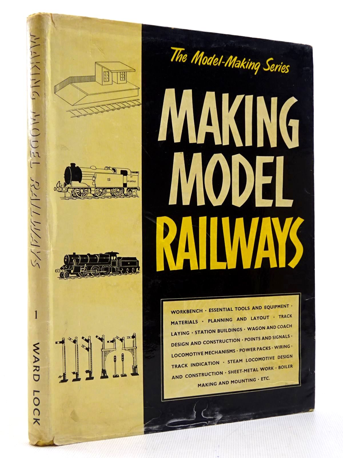 Photo of MAKING MODEL RAILWAYS written by Abbey, Staton