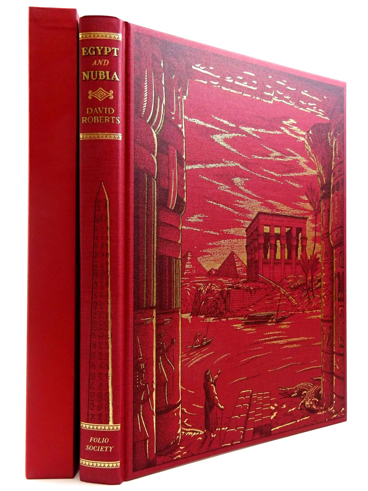 Photo of THE HOLY LAND, SYRIA, IDUMEA & ARABIA AND EGYPT AND NUBIA (2 VOLUMES) written by Roberts, David published by Folio Society (STOCK CODE: 2129192)  for sale by Stella & Rose's Books
