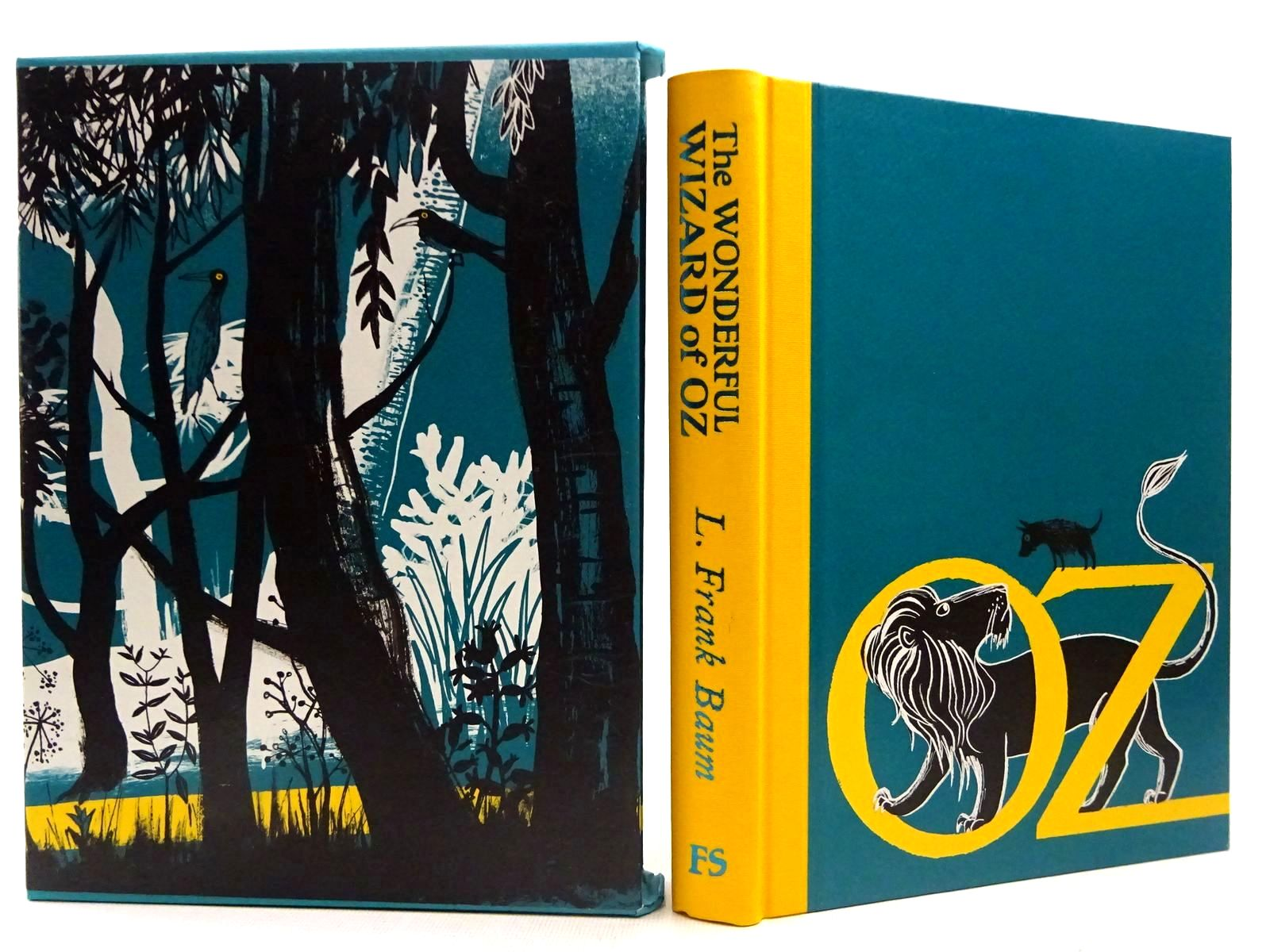 Photo of THE WONDERFUL WIZARD OF OZ written by Baum, L. Frank illustrated by Ogilvie, Sara published by Folio Society (STOCK CODE: 2129208)  for sale by Stella & Rose's Books