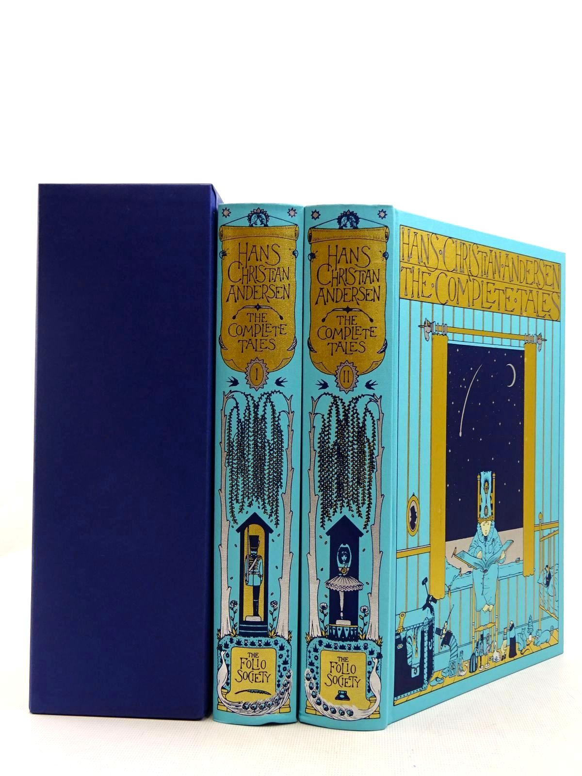 Photo of HANS CHRISTIAN ANDERSEN - THE COMPLETE TALES written by Andersen, Hans Christian illustrated by Nielsen, Kay