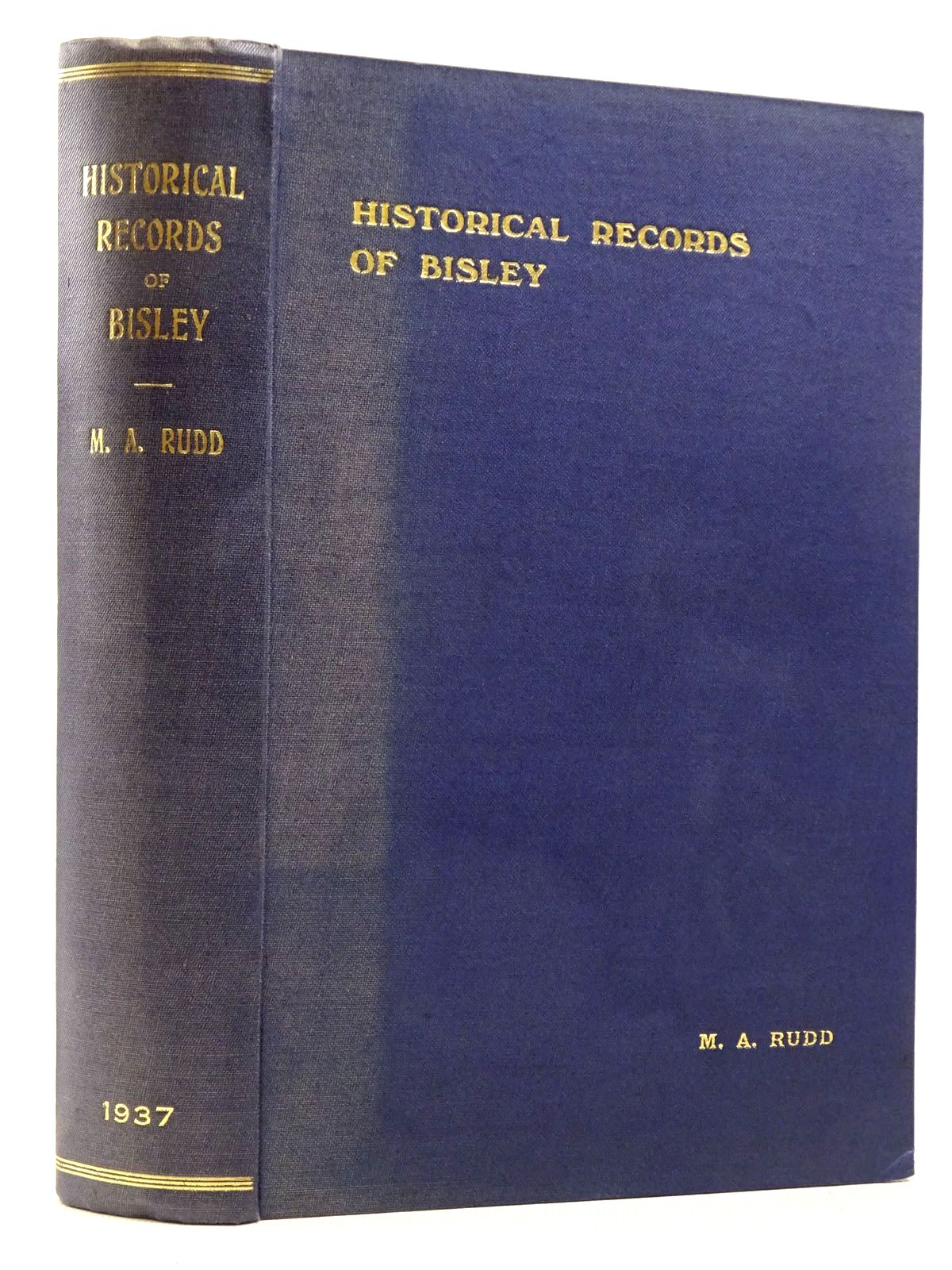 Photo of HISTORICAL RECORDS OF BISLEY WITH LYPIATT GLOUCESTERSHIRE- Stock Number: 2129218