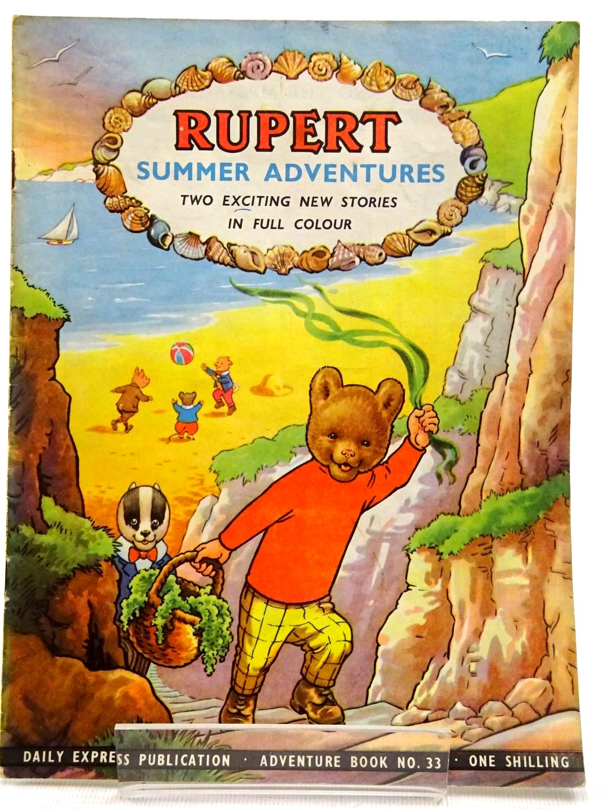 Photo of RUPERT ADVENTURE BOOK No. 33 - SUMMER ADVENTURES- Stock Number: 2129235