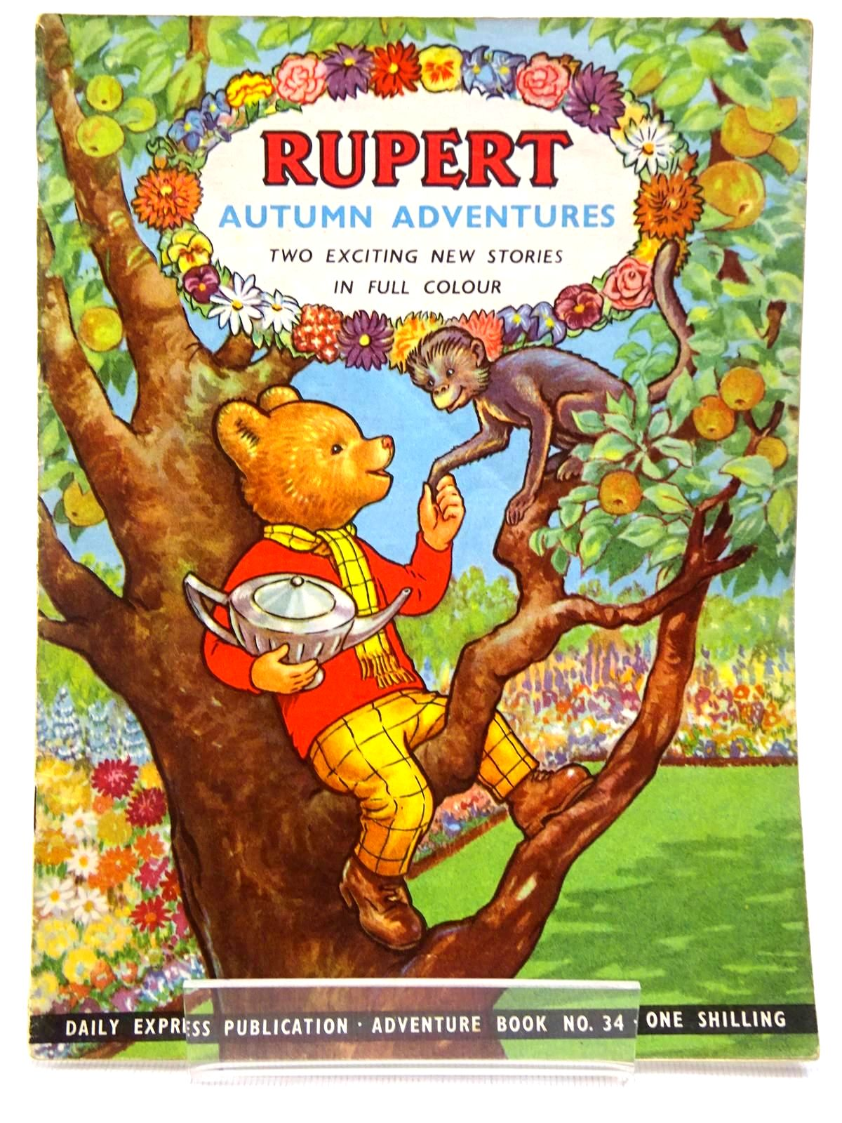 Photo of RUPERT ADVENTURE BOOK No. 34 - AUTUMN ADVENTURES written by Bestall, Alfred published by Daily Express (STOCK CODE: 2129236)  for sale by Stella & Rose's Books