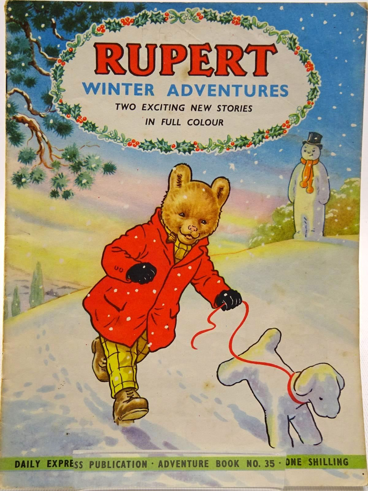 Photo of RUPERT ADVENTURE BOOK No. 35 - WINTER ADVENTURES written by Bestall, Alfred published by Daily Express, Oldbourne Book Co. Ltd. (STOCK CODE: 2129239)  for sale by Stella & Rose's Books