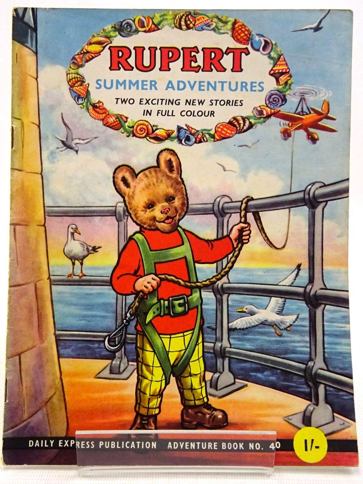 Photo of RUPERT ADVENTURE BOOK No. 40 - SUMMER ADVENTURES written by Bestall, Alfred published by Daily Express, Oldbourne Book Co. Ltd. (STOCK CODE: 2129240)  for sale by Stella & Rose's Books