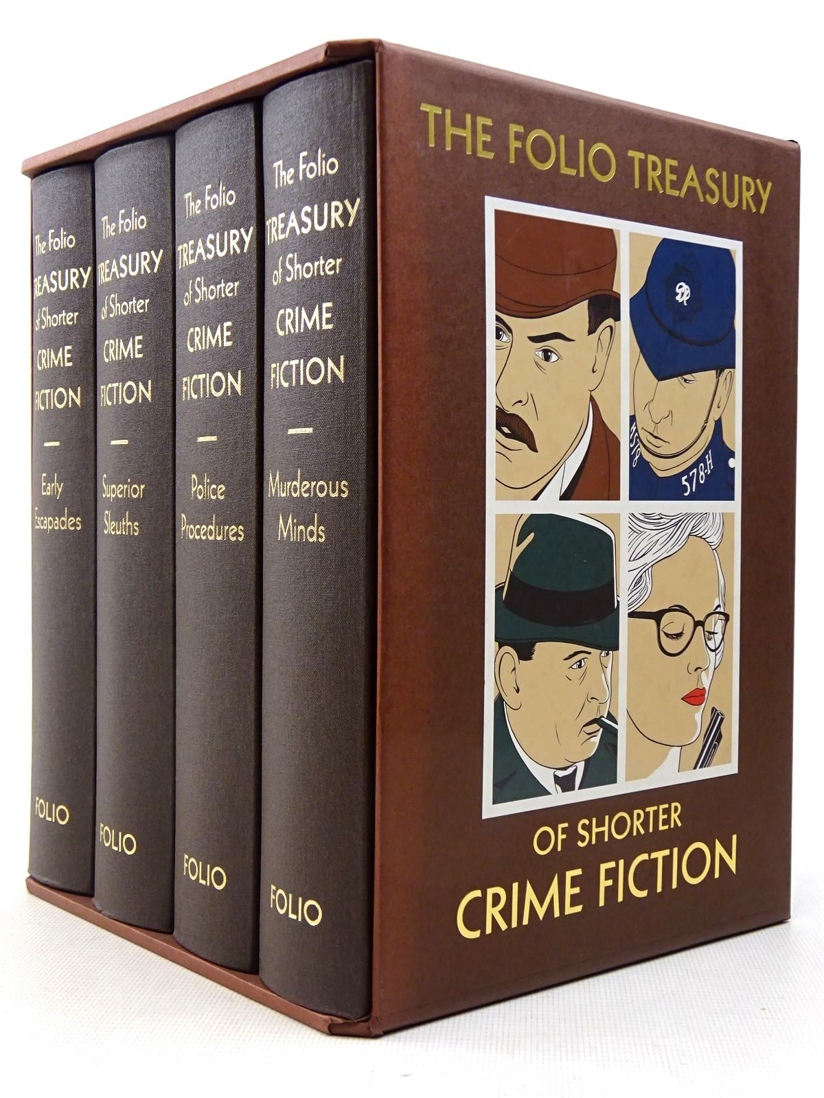 Photo of THE FOLIO TREASURY OF SHORTER CRIME FICTION written by Heald, Tim<br />Bradbury, Sue illustrated by Hardcastle, Nick published by Folio Society (STOCK CODE: 2129272)  for sale by Stella & Rose's Books