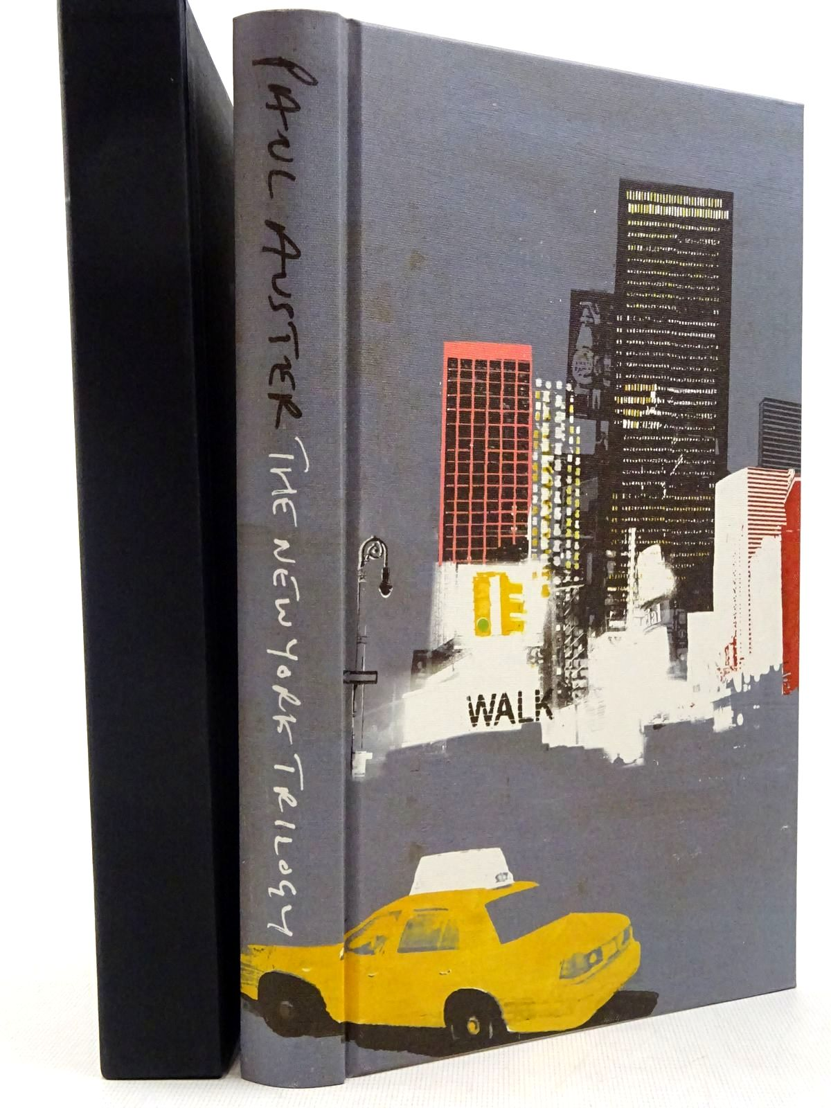 Photo of THE NEW YORK TRILOGY written by Auster, Paul illustrated by Burns, Tom published by Folio Society (STOCK CODE: 2129303)  for sale by Stella & Rose's Books