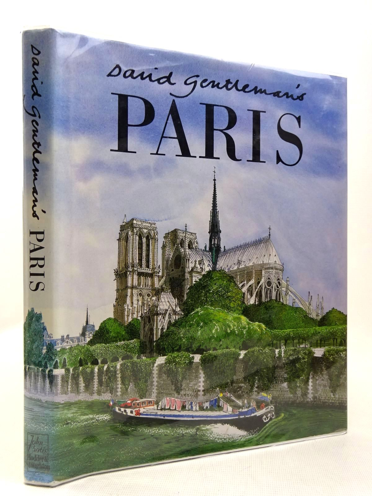 Photo of DAVID GENTLEMAN'S PARIS written by Gentleman, David illustrated by Gentleman, David published by Hodder & Stoughton (STOCK CODE: 2129316)  for sale by Stella & Rose's Books