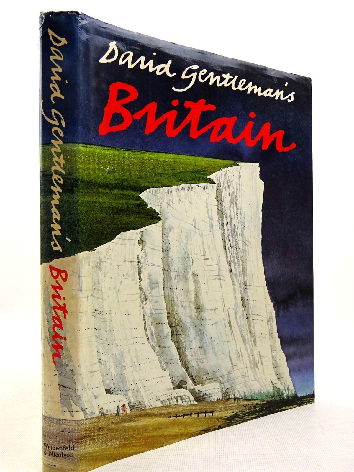 Photo of DAVID GENTLEMAN'S BRITAIN written by Gentleman, David illustrated by Gentleman, David published by Weidenfeld and Nicolson (STOCK CODE: 2129322)  for sale by Stella & Rose's Books