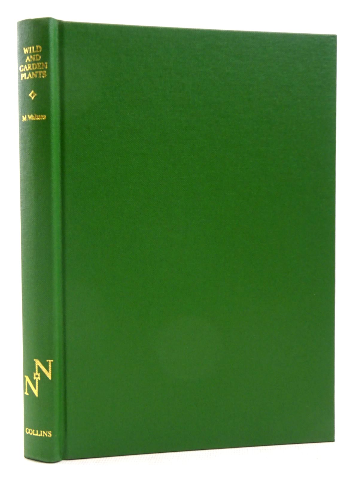 Photo of WILD & GARDEN PLANTS (NN 80) written by Walters, Max published by Collins (STOCK CODE: 2129337)  for sale by Stella & Rose's Books