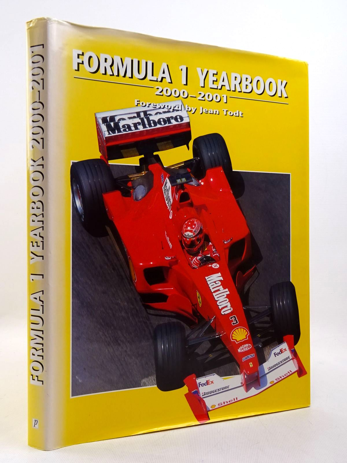 Photo of FORMULA 1 YEARBOOK 2000-2001 written by Domenjoz, Luc<br />Todt, Jean published by Parragon (STOCK CODE: 2129355)  for sale by Stella & Rose's Books