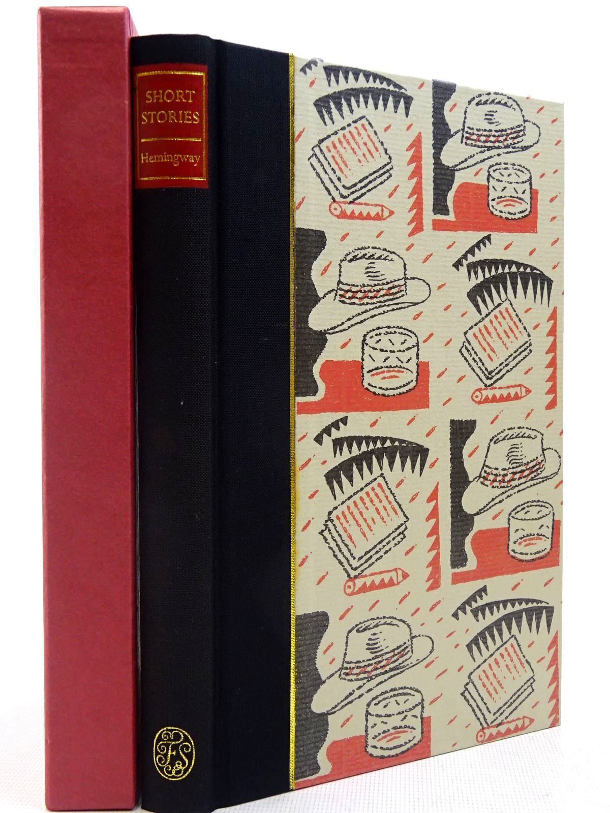 Photo of SHORT STORIES written by Hemingway, Ernest<br />Hughes, David illustrated by Beck, Ian published by Folio Society (STOCK CODE: 2129365)  for sale by Stella & Rose's Books