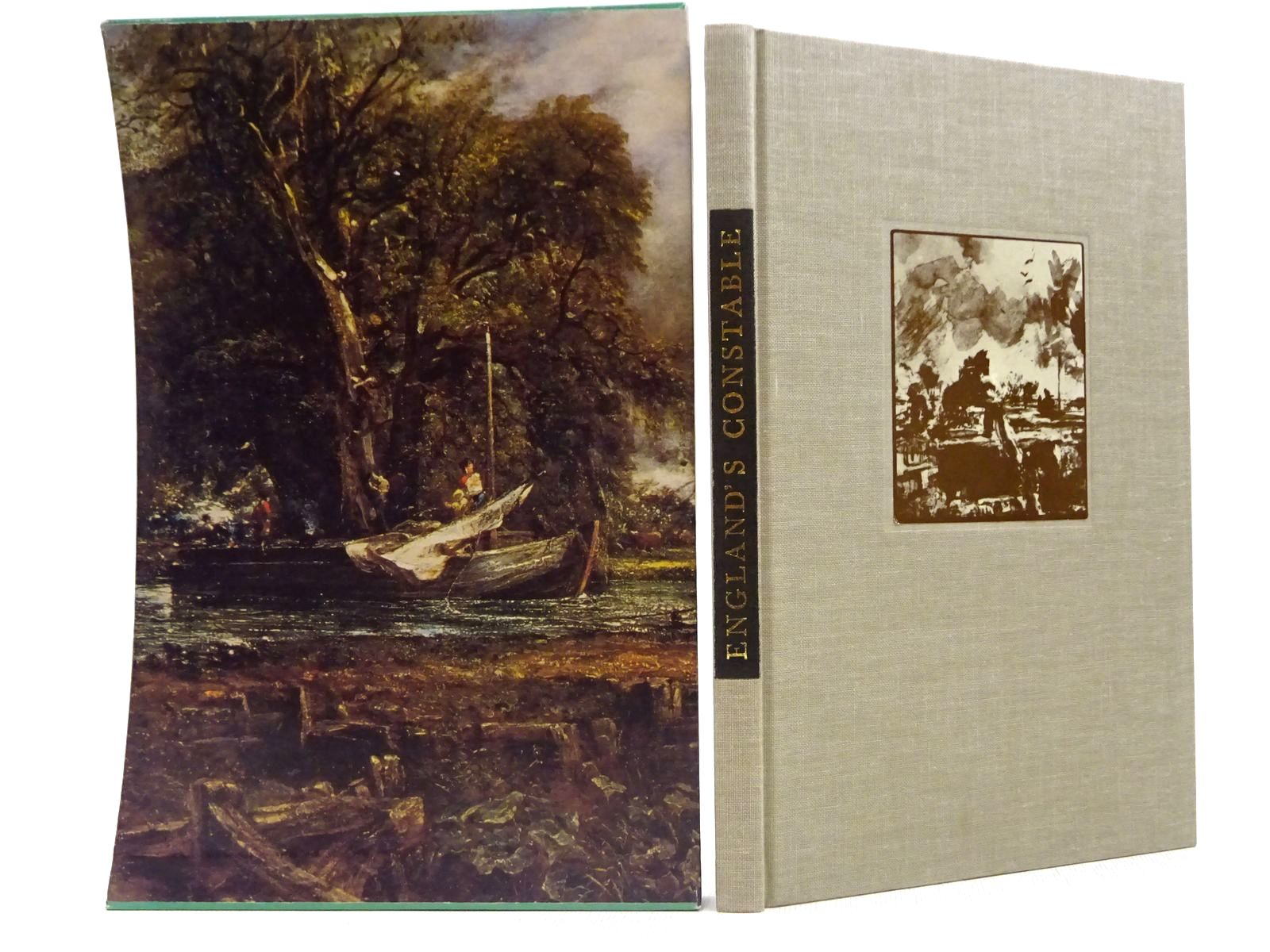 Photo of ENGLAND'S CONSTABLE written by Darracott, Joseph<br />Constable, John illustrated by Constable, John published by Folio Society (STOCK CODE: 2129376)  for sale by Stella & Rose's Books