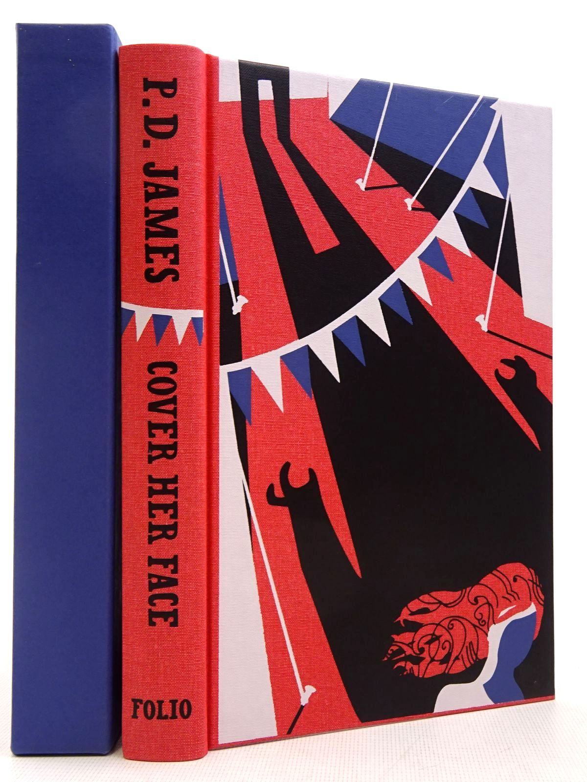Photo of COVER HER FACE written by James, P.D. illustrated by Burton, Jonathan published by Folio Society (STOCK CODE: 2129387)  for sale by Stella & Rose's Books
