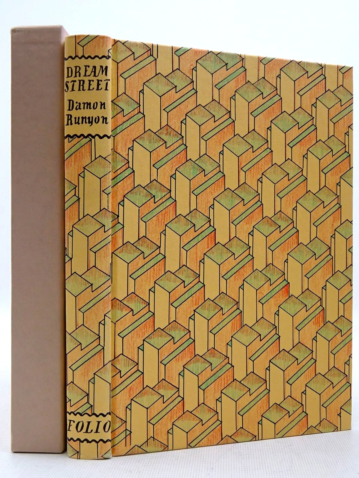 Photo of DREAM STREET written by Runyon, Damon Bradbury, Sue illustrated by Bentley, Nicolas Eccles, David published by Folio Society (STOCK CODE: 2129401)  for sale by Stella & Rose's Books