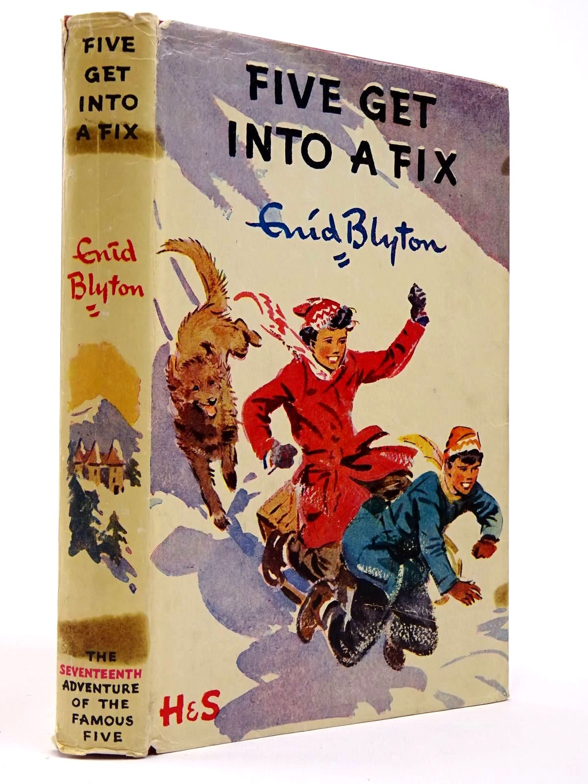 Photo of FIVE GET INTO A FIX written by Blyton, Enid illustrated by Soper, Eileen published by Hodder & Stoughton (STOCK CODE: 2129404)  for sale by Stella & Rose's Books
