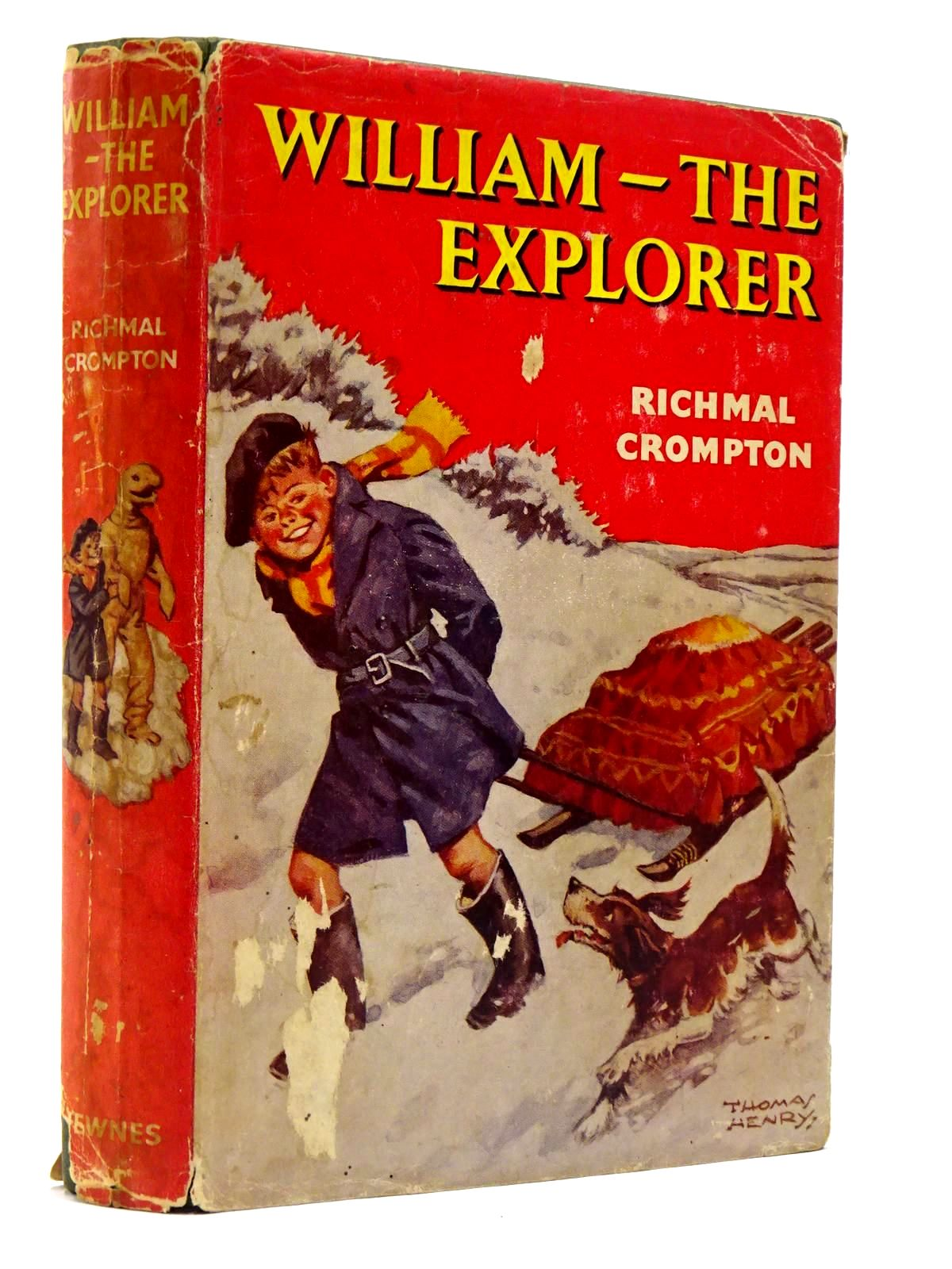Photo of WILLIAM THE EXPLORER written by Crompton, Richmal illustrated by Henry, Thomas published by George Newnes (STOCK CODE: 2129409)  for sale by Stella & Rose's Books