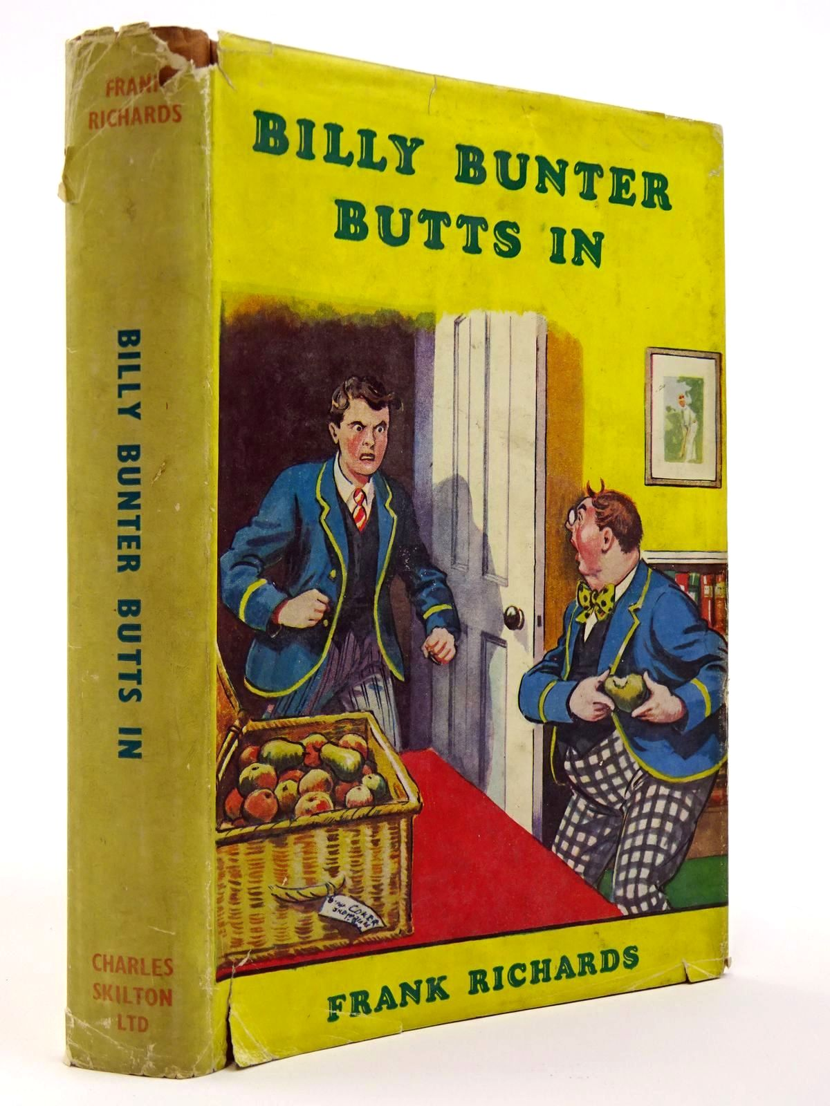 Photo of BILLY BUNTER BUTTS IN written by Richards, Frank illustrated by Macdonald, R.J. published by Charles Skilton Ltd. (STOCK CODE: 2129410)  for sale by Stella & Rose's Books