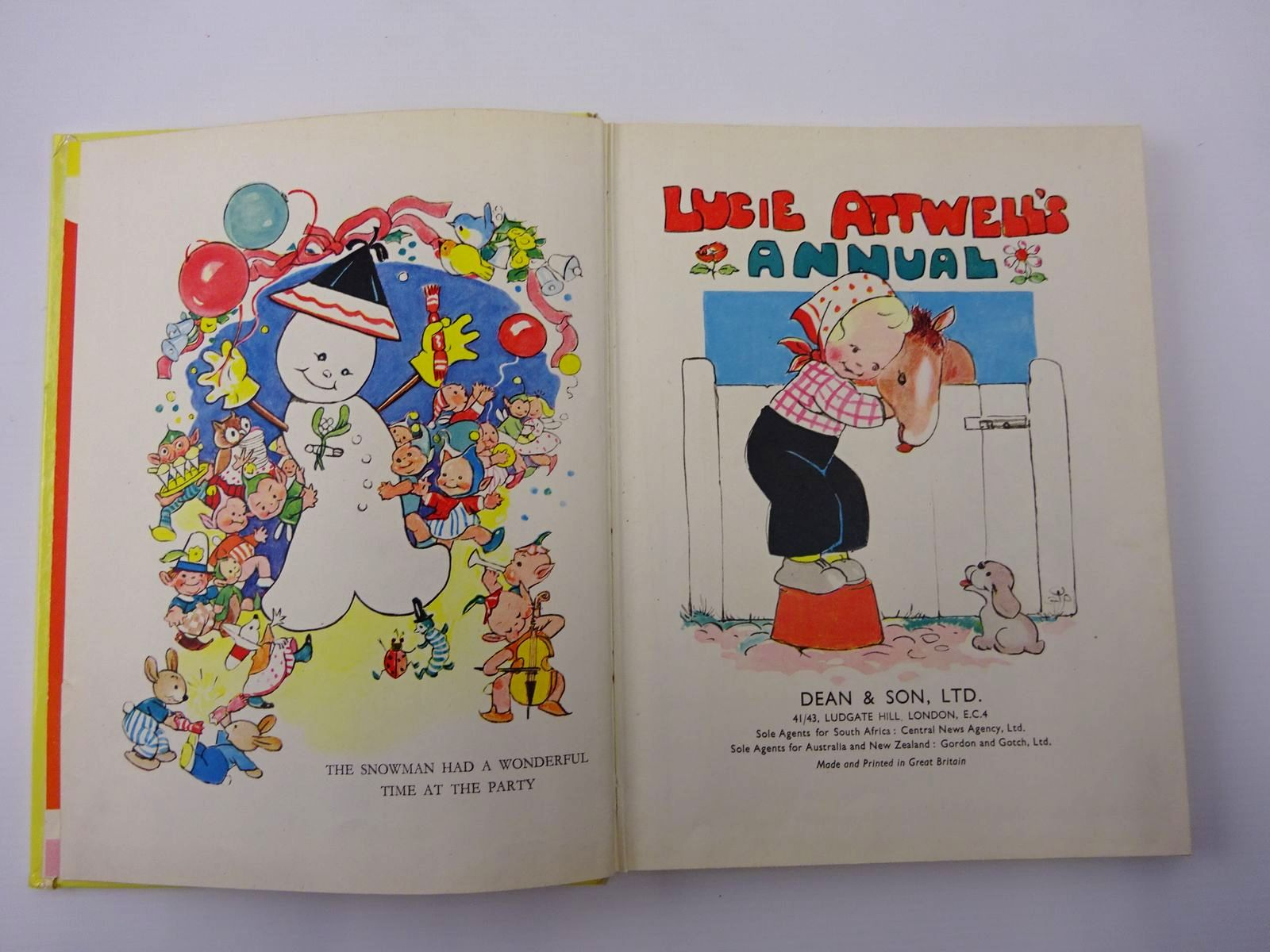 Photo of LUCIE ATTWELL'S ANNUAL 1953 illustrated by Attwell, Mabel Lucie published by Dean & Son Ltd. (STOCK CODE: 2129431)  for sale by Stella & Rose's Books