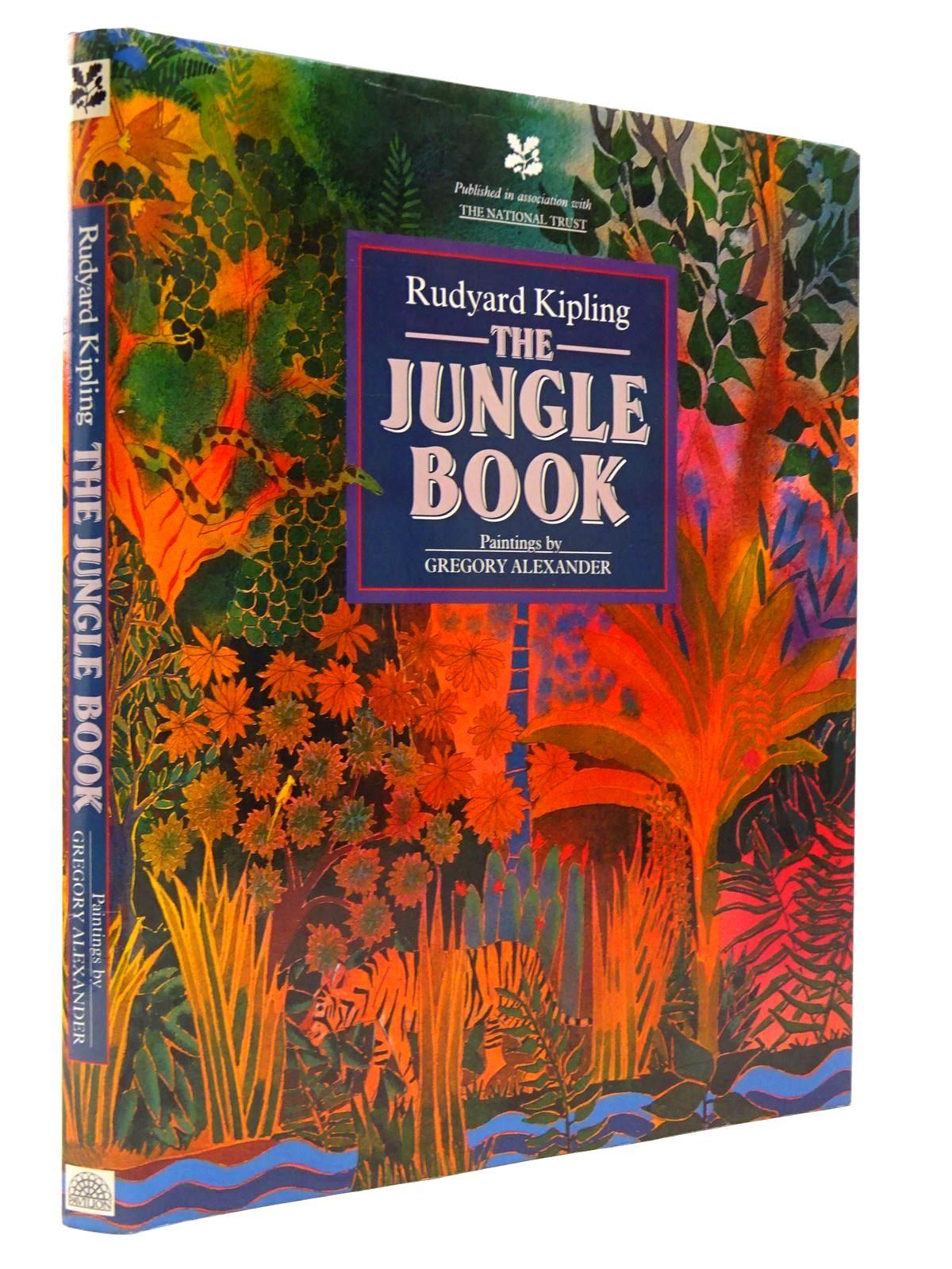 Photo of THE JUNGLE BOOK written by Kipling, Rudyard illustrated by Alexander, Gregory published by Pavilion (STOCK CODE: 2129442)  for sale by Stella & Rose's Books