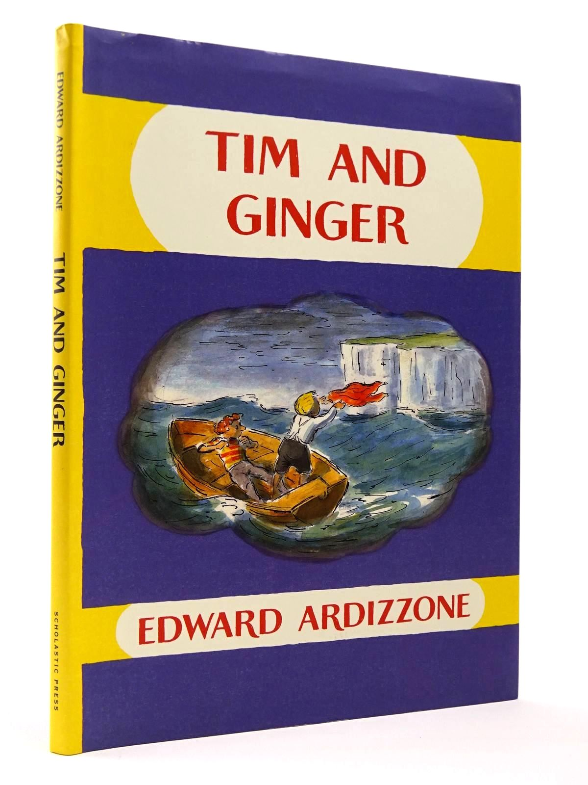 Photo of TIM AND GINGER written by Ardizzone, Edward illustrated by Ardizzone, Edward published by Scholastic Press (STOCK CODE: 2129443)  for sale by Stella & Rose's Books