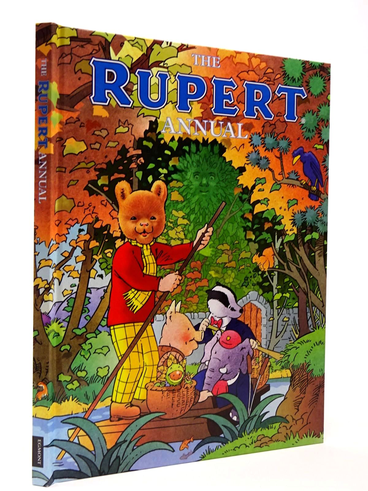 Photo of RUPERT ANNUAL 2016 written by Trotter, Stuart<br />Alperin, Mara<br />et al,  illustrated by Harrold, John<br />Bestall, Alfred<br />Trotter, Stuart<br />et al.,  published by Egmont Uk Limited (STOCK CODE: 2129446)  for sale by Stella & Rose's Books