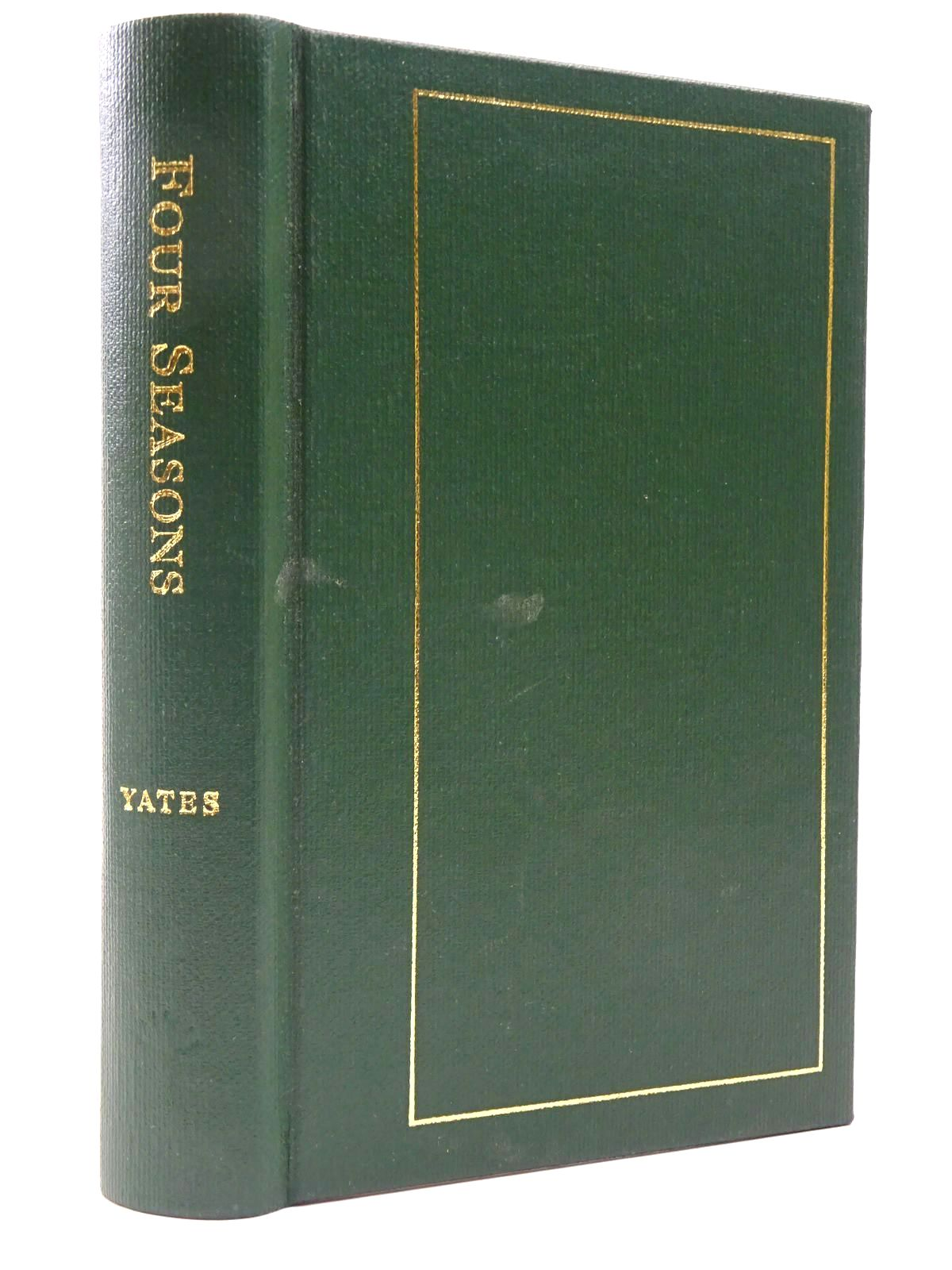 Photo of FOUR SEASONS BEING THE FISHING DIARIES OF CHRISTOPHER YATES JUNE 1977 - MARCH 1981- Stock Number: 2129510