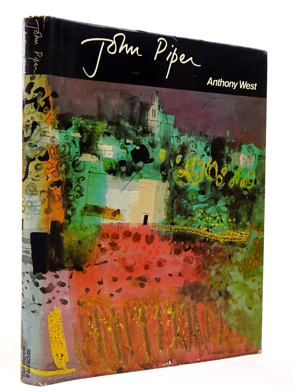Photo of JOHN PIPER written by West, Anthony illustrated by Piper, John published by Secker & Warburg (STOCK CODE: 2129592)  for sale by Stella & Rose's Books
