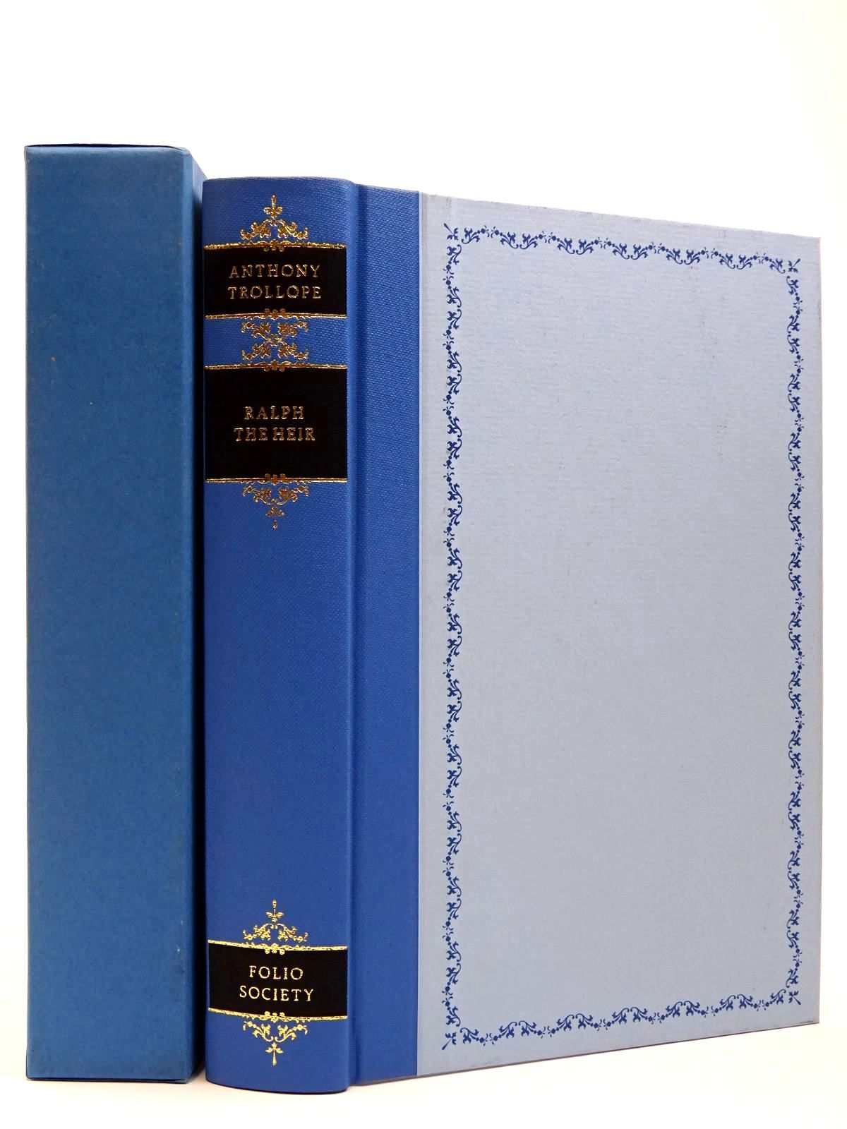 Photo of RALPH THE HEIR written by Trollope, Anthony illustrated by Bellwood, Shirley published by Folio Society (STOCK CODE: 2129620)  for sale by Stella & Rose's Books