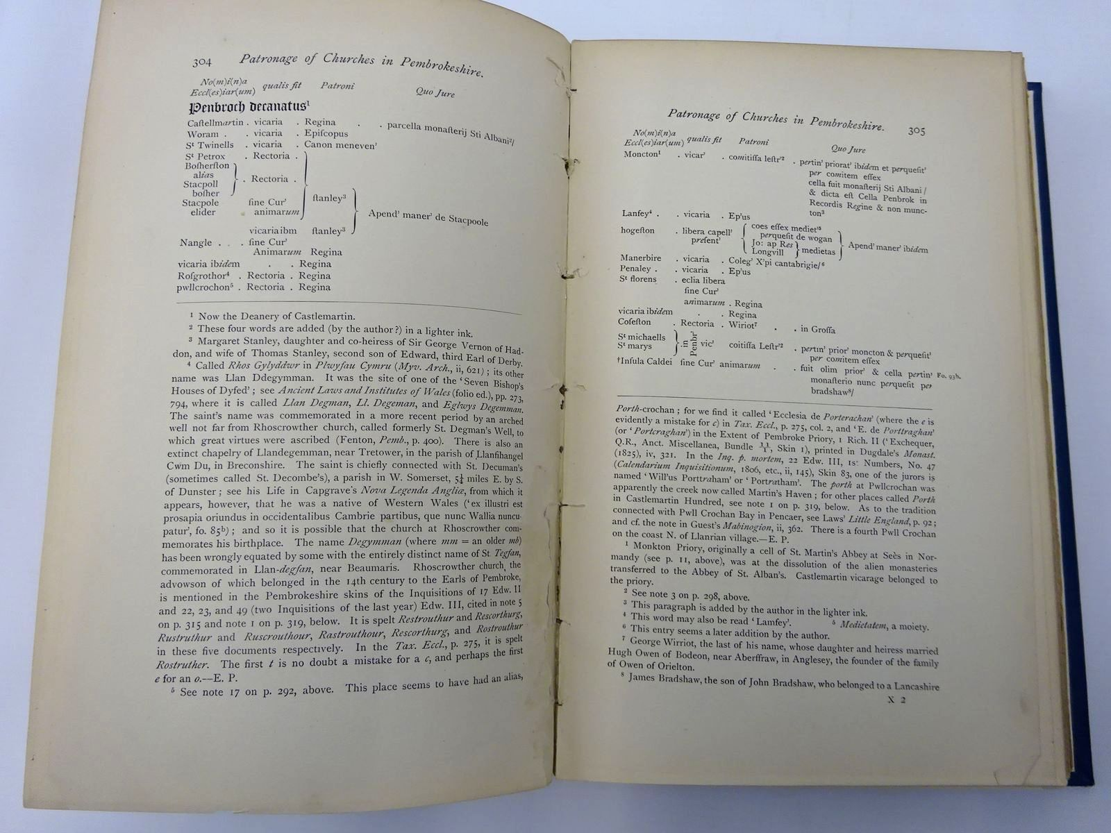 Photo of THE DESCRIPTION OF PEMBROKESHIRE (3 VOLUMES) written by Owen, George published by Chas. J. Clark, The Bedford Press, The Honourable Society of Cymmrodorion (STOCK CODE: 2129629)  for sale by Stella & Rose's Books