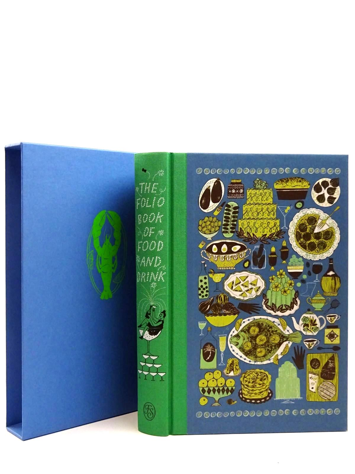 Photo of THE FOLIO BOOK OF FOOD AND DRINK written by Tulloh, Jojo