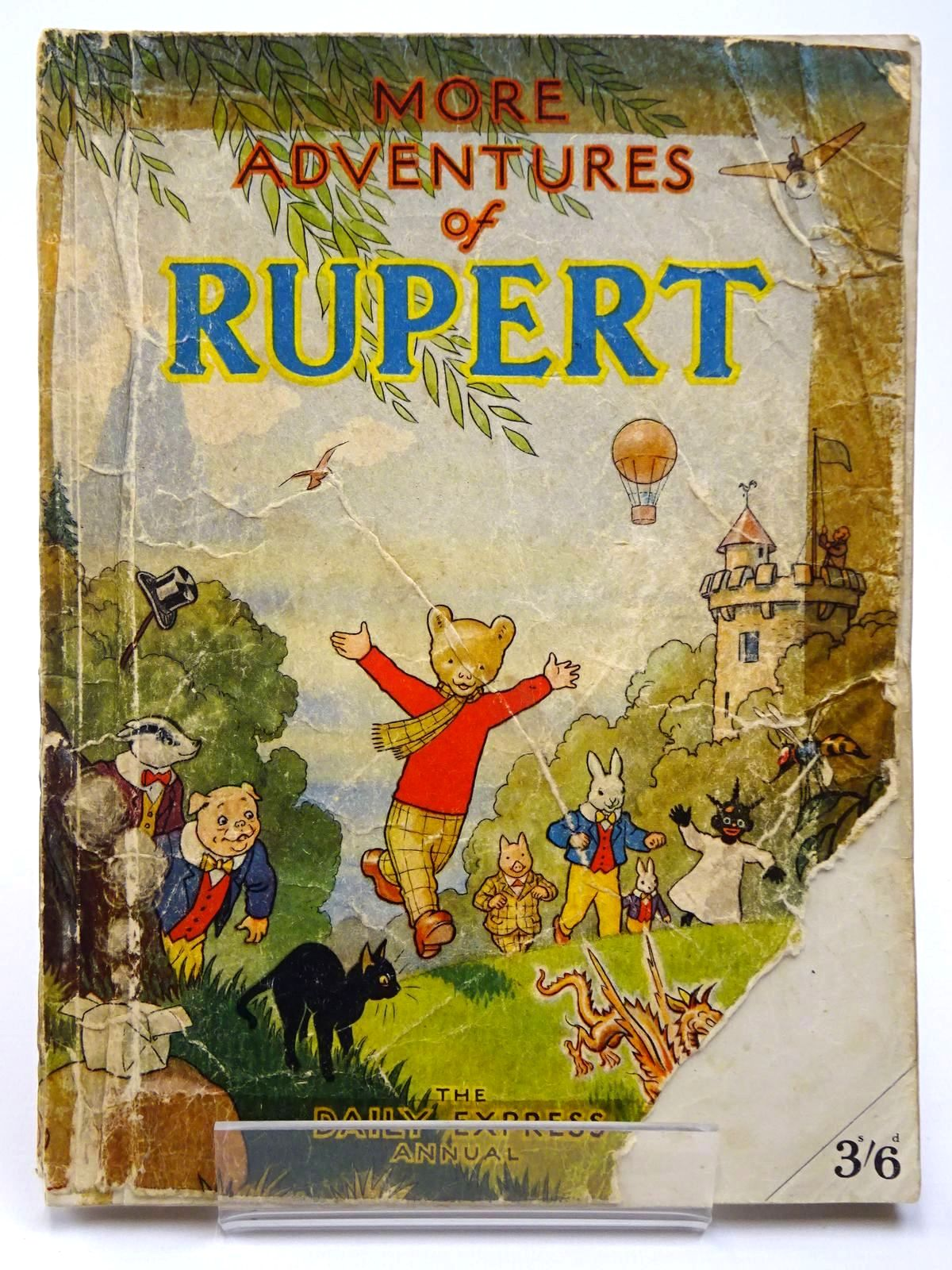 Photo of RUPERT ANNUAL 1947 - MORE ADVENTURES OF RUPERT written by Bestall, Alfred illustrated by Bestall, Alfred published by Daily Express (STOCK CODE: 2129638)  for sale by Stella & Rose's Books