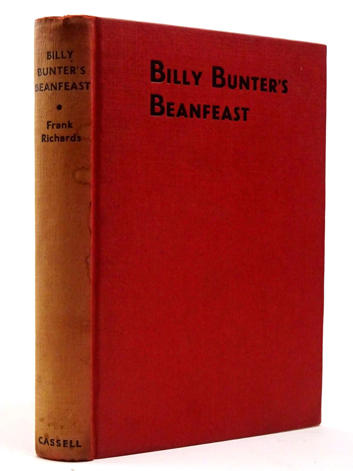 Photo of BILLY BUNTER'S BEANFEAST written by Richards, Frank illustrated by Macdonald, R.J. published by Cassell & Company Ltd (STOCK CODE: 2129665)  for sale by Stella & Rose's Books