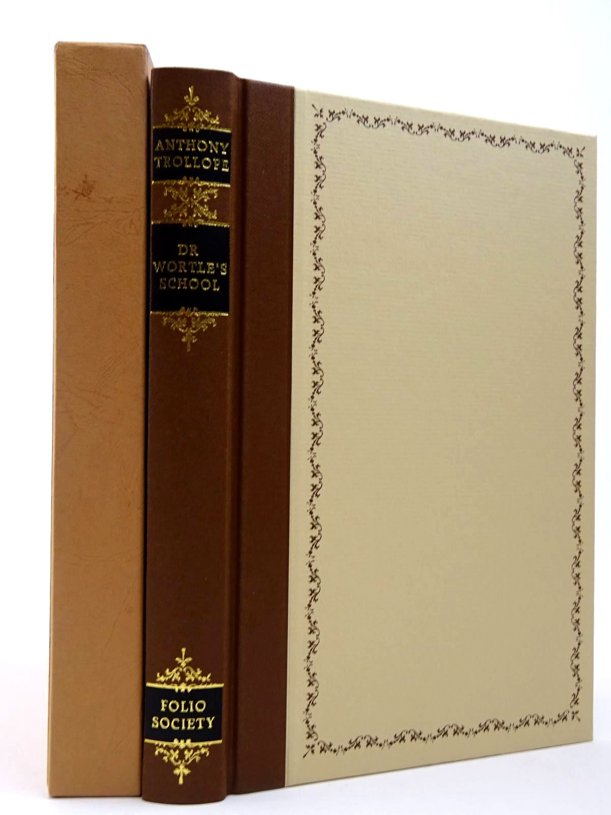 Photo of DR WORTLE'S SCHOOL written by Trollope, Anthony Rae, John illustrated by Jacques, Robin published by Folio Society (STOCK CODE: 2129721)  for sale by Stella & Rose's Books