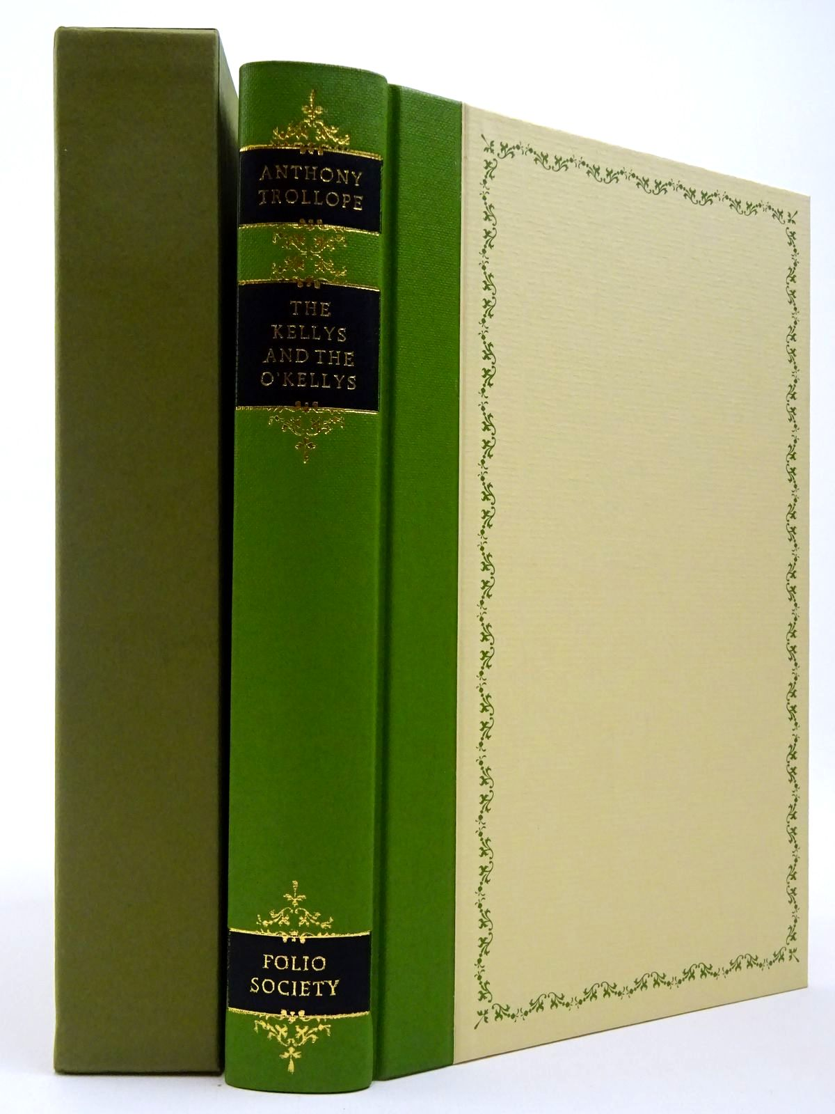 Photo of THE KELLYS AND THE O'KELLYS written by Trollope, Anthony illustrated by Pendle, Alexy published by Folio Society (STOCK CODE: 2129723)  for sale by Stella & Rose's Books