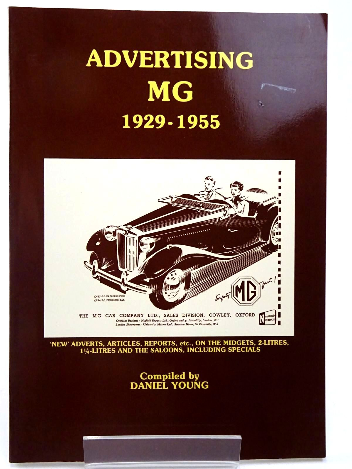 Photo of ADVERTISING MG 1929-1955 written by Young, Daniel published by P4 Spares (STOCK CODE: 2129747)  for sale by Stella & Rose's Books