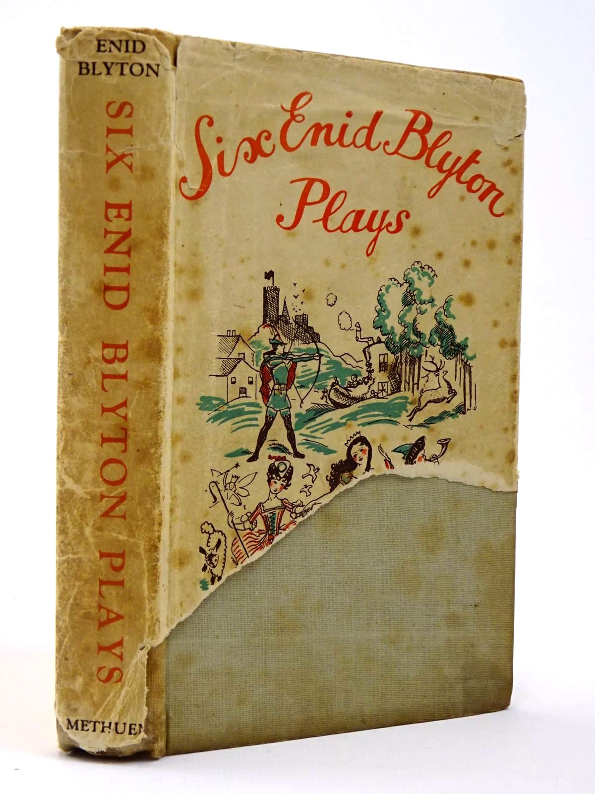 Photo of SIX ENID BLYTON PLAYS written by Blyton, Enid published by Methuen & Co. Ltd. (STOCK CODE: 2129802)  for sale by Stella & Rose's Books