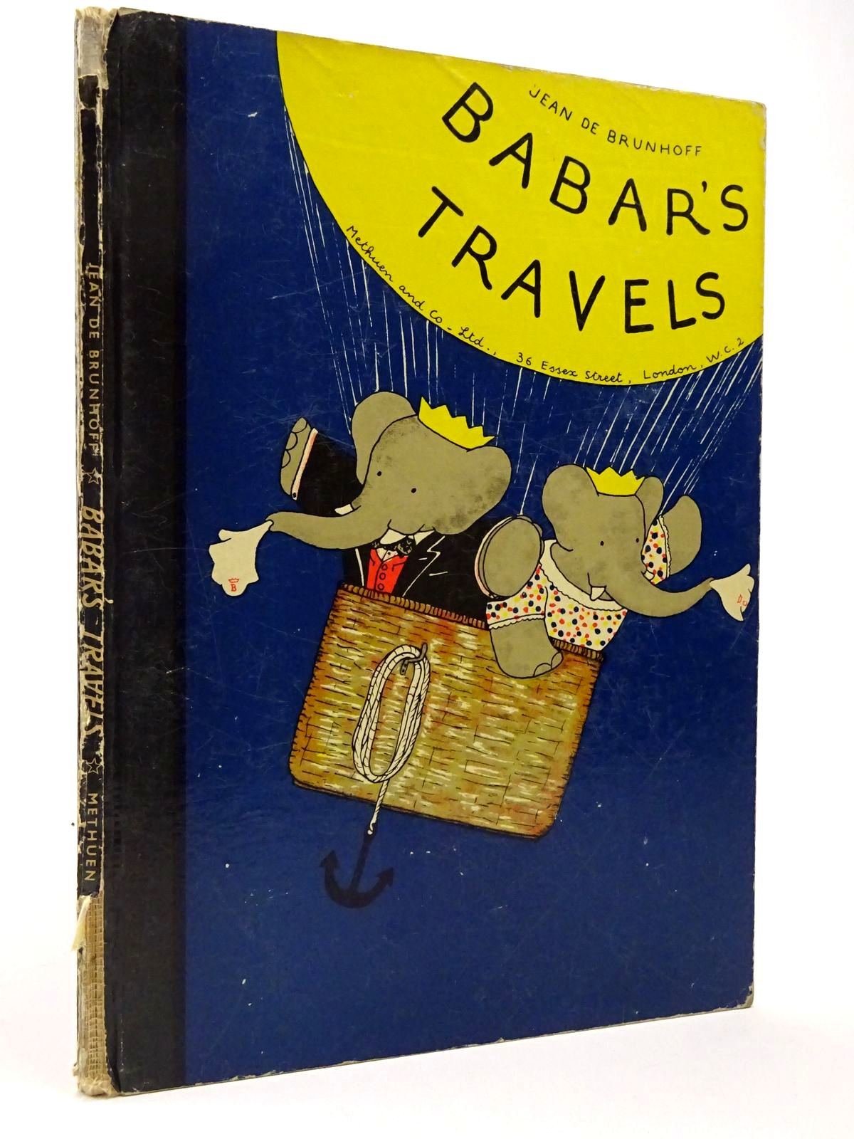 Photo of BABAR'S TRAVELS written by De Brunhoff, Jean illustrated by De Brunhoff, Jean published by Methuen & Co. Ltd. (STOCK CODE: 2129828)  for sale by Stella & Rose's Books