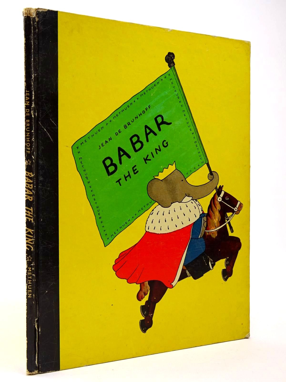 Photo of BABAR THE KING written by De Brunhoff, Jean published by Methuen & Co. Ltd. (STOCK CODE: 2129829)  for sale by Stella & Rose's Books