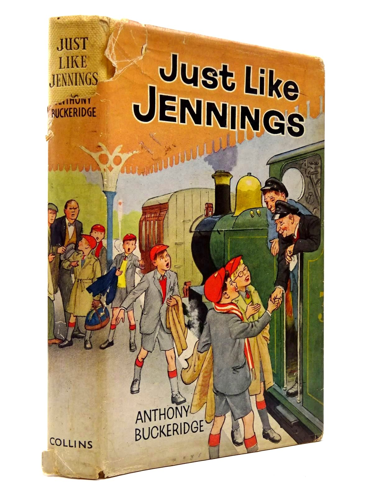 Photo of JUST LIKE JENNINGS written by Buckeridge, Anthony published by Collins (STOCK CODE: 2129840)  for sale by Stella & Rose's Books