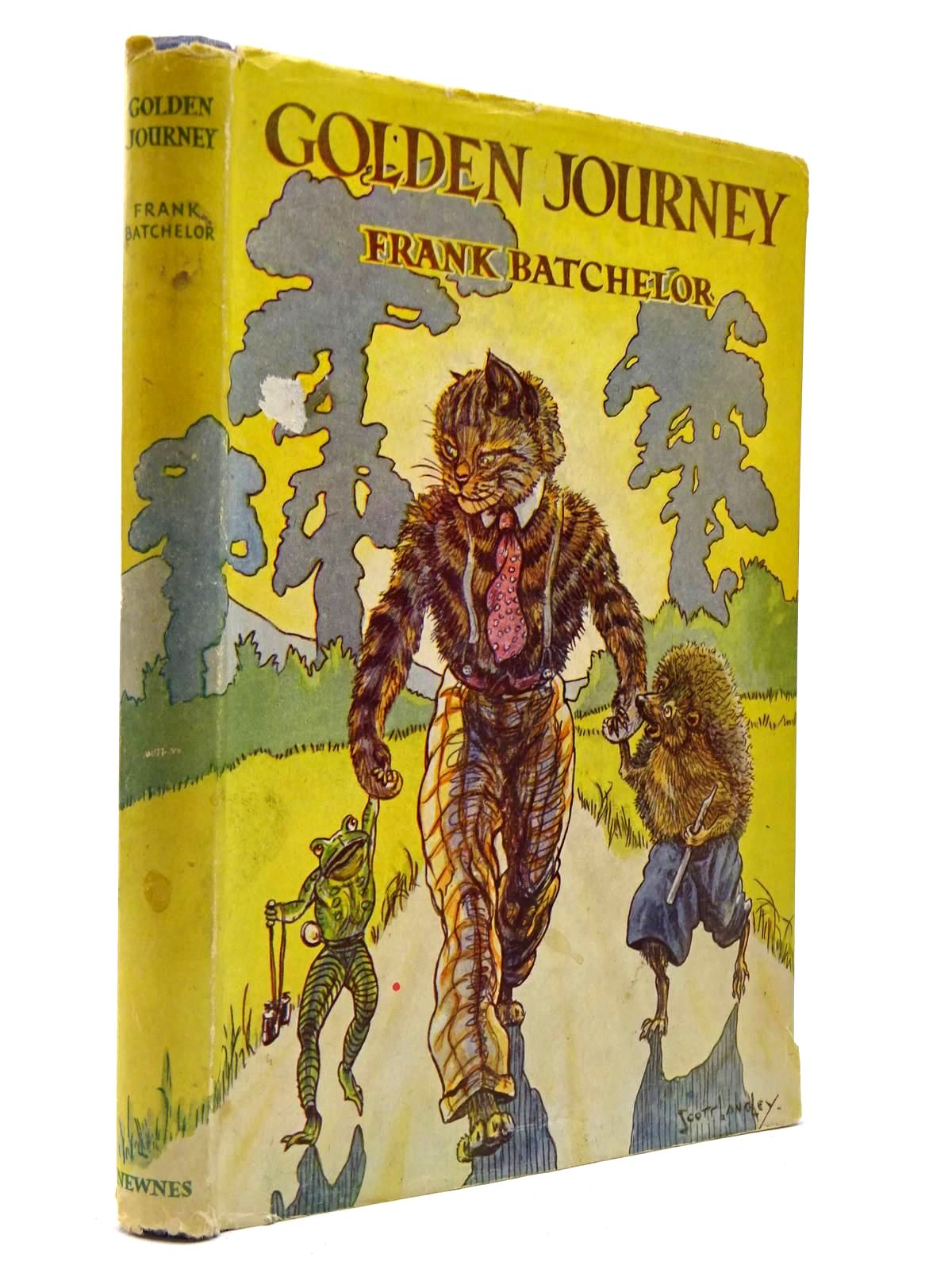 Photo of GOLDEN JOURNEY written by Batchelor, Frank illustrated by Scott-Langley, Nina published by George Newnes Limited (STOCK CODE: 2129845)  for sale by Stella & Rose's Books