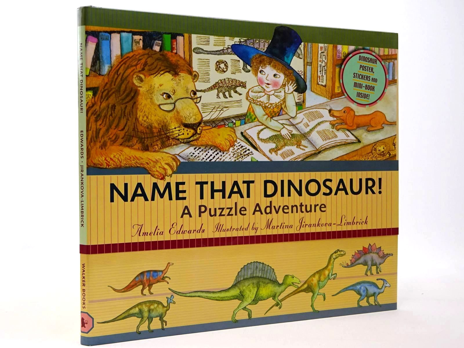 Photo of NAME THAT DINOSAUR! A PUZZLE ADVENTURE- Stock Number: 2129866