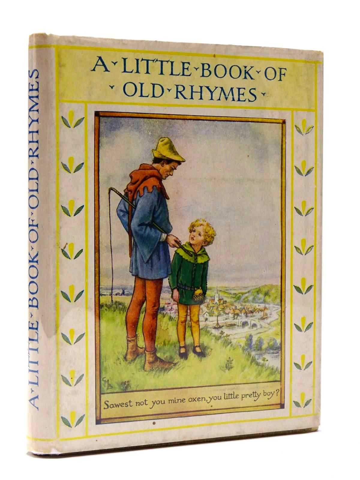 Photo of A LITTLE BOOK OF OLD RHYMES written by Barker, Cicely Mary illustrated by Barker, Cicely Mary published by Blackie & Son Ltd. (STOCK CODE: 2129892)  for sale by Stella & Rose's Books