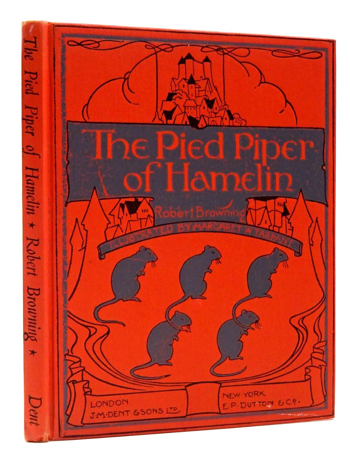 Photo of THE PIED PIPER OF HAMELIN written by Browning, Robert illustrated by Tarrant, Margaret published by J.M. Dent & Sons Ltd. (STOCK CODE: 2129894)  for sale by Stella & Rose's Books
