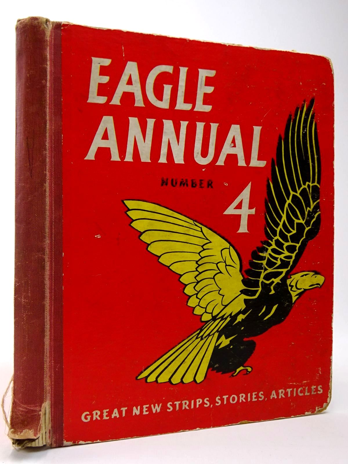 Photo of EAGLE ANNUAL No. 4 written by Morris, Marcus Johns, W.E. published by Hulton Press Ltd. (STOCK CODE: 2129942)  for sale by Stella & Rose's Books