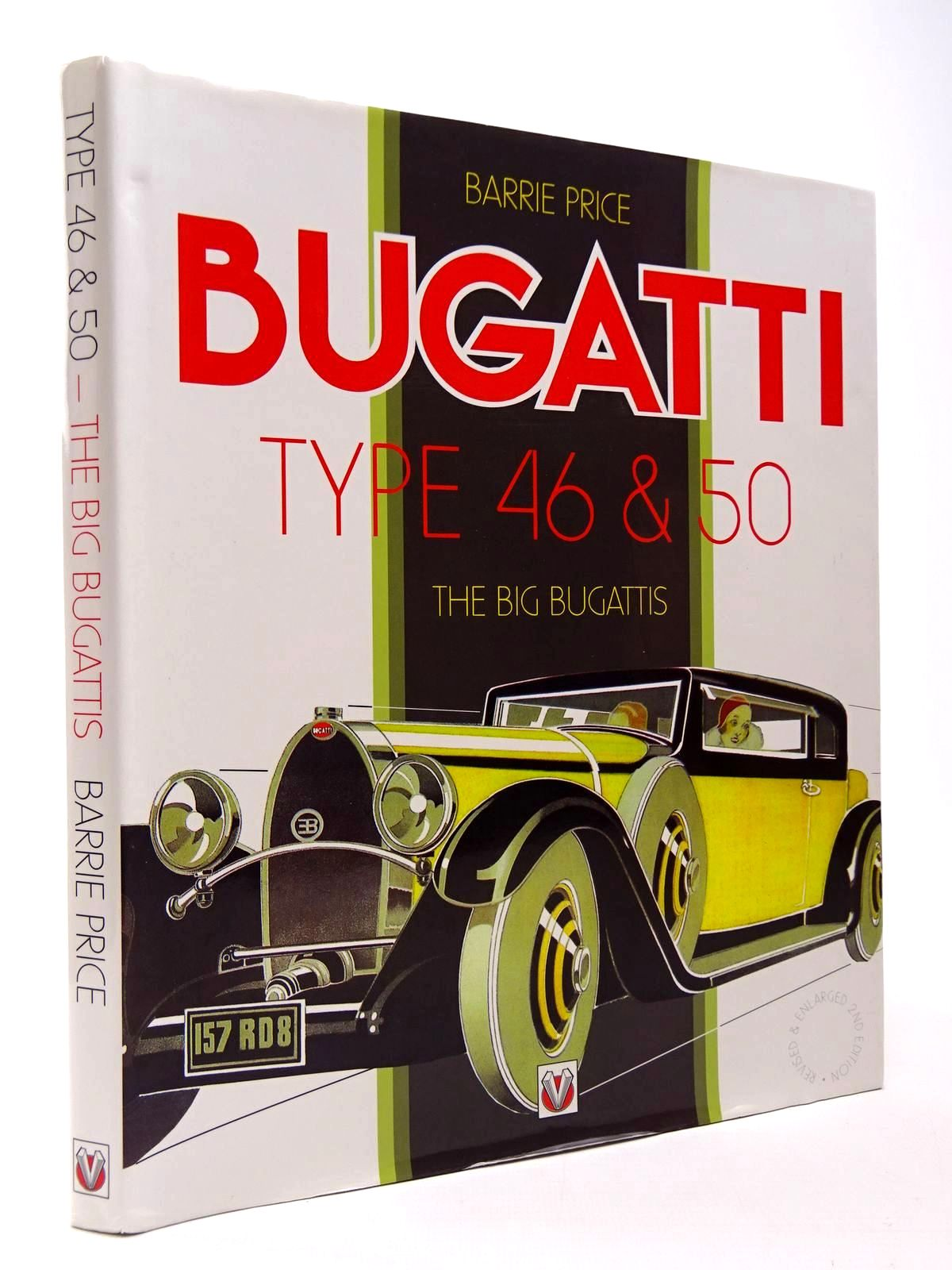 Photo of BUGATTI TYPE 46 & 50 THE BIG BUGATTIS written by Price, Barrie published by Veloce Publishing Plc. (STOCK CODE: 2129950)  for sale by Stella & Rose's Books