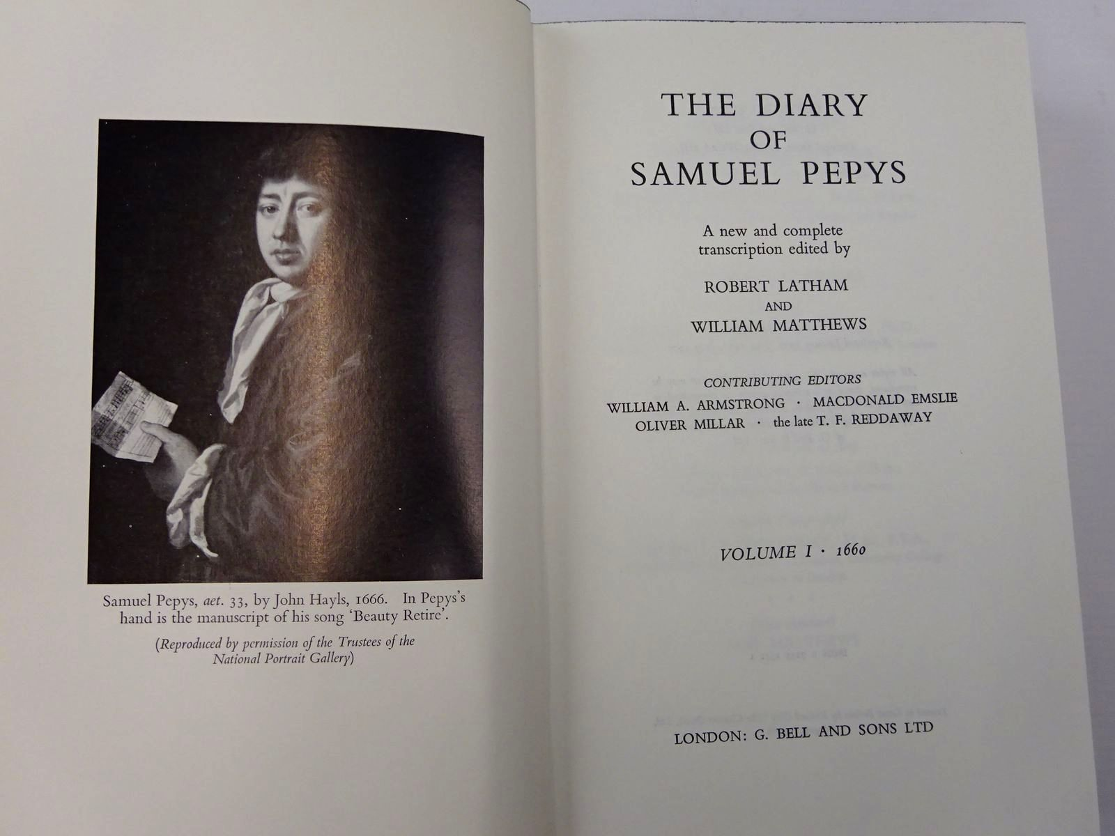 Photo of THE DIARY OF SAMUEL PEPYS (11 VOLS) written by Latham, Robert Matthews, William Pepys, Samuel published by G. Bell & Sons Ltd. (STOCK CODE: 2129956)  for sale by Stella & Rose's Books