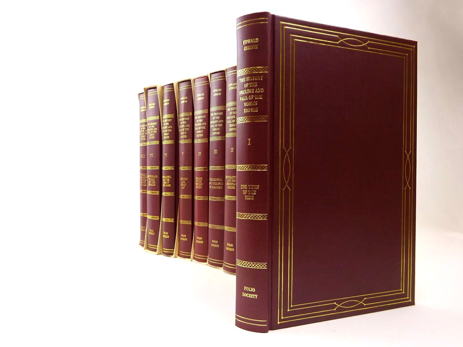 Photo of THE HISTORY OF THE DECLINE AND FALL OF THE ROMAN EMPIRE written by Gibbon, Edward Radice, Betty published by Folio Society (STOCK CODE: 2129957)  for sale by Stella & Rose's Books